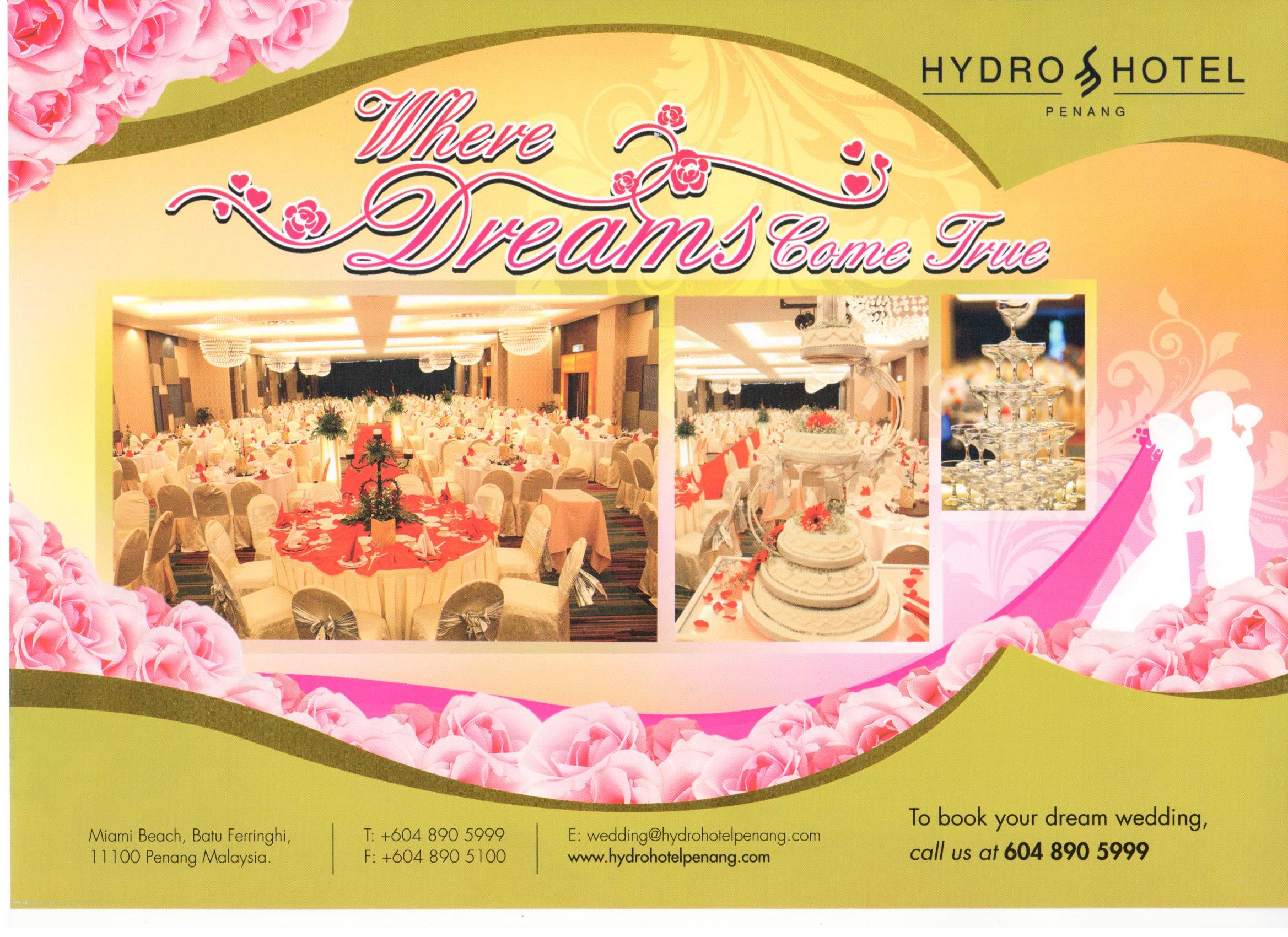 Plan a ceremony and wedding at Hydro Hotel