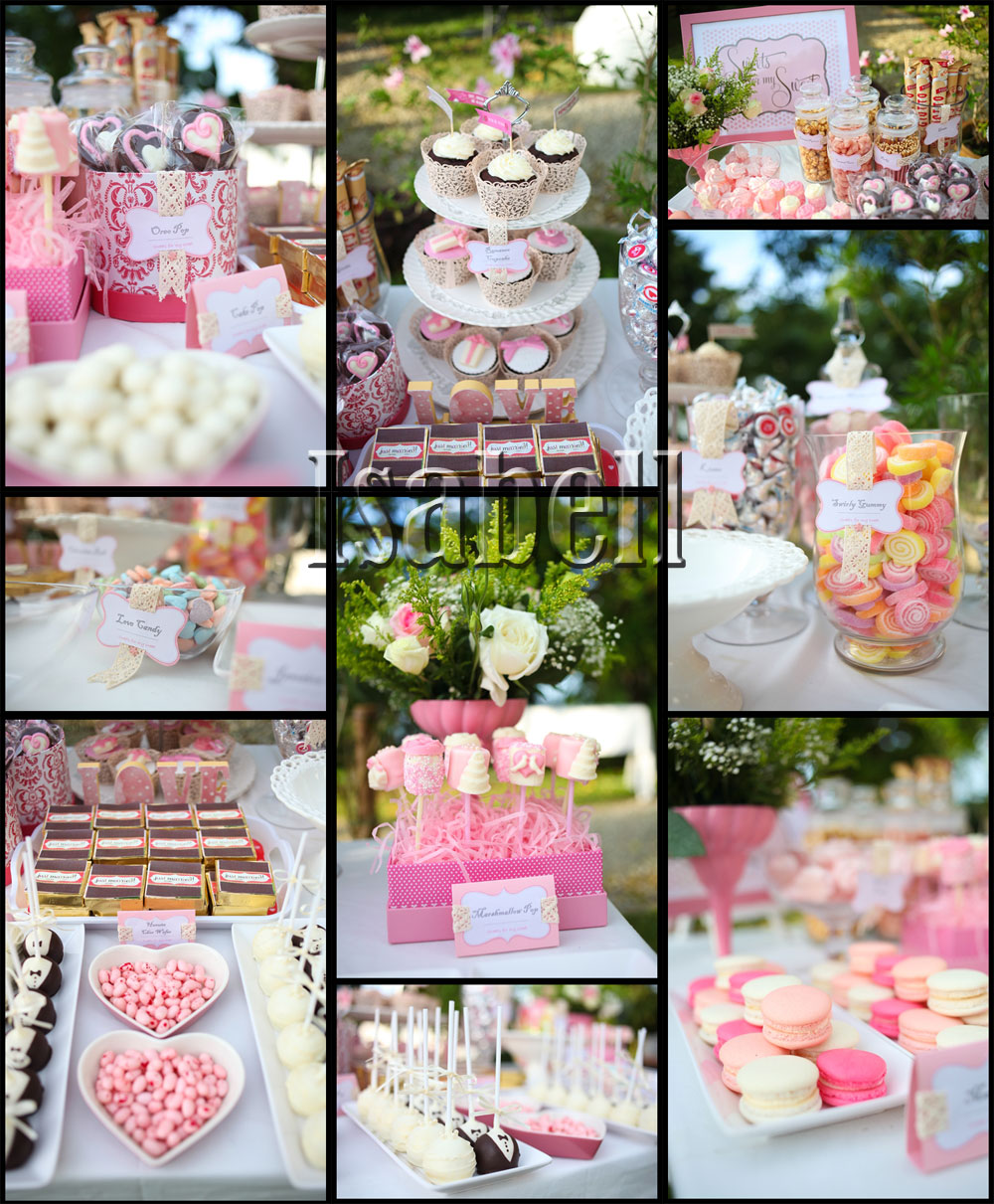 candy bar candy buffet corner wedding candy bar Candy Bar Candy Buffet Corner